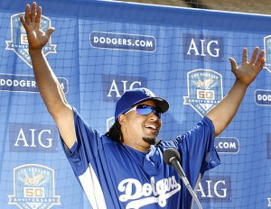 Manny Ramirez still wants to be a Dodger; doesn't he?