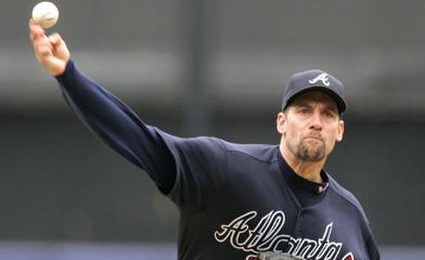 Braves Smoltz Baseball