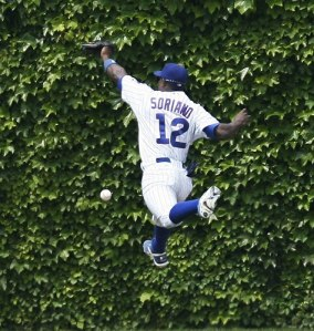 Hey, at least Alfonso Soriano isn't doing that bunny hop thing he does.