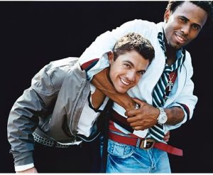 David Wright and Jose Reyes having a gay old time. Maybe this is why the Mets never beat the Phillies.