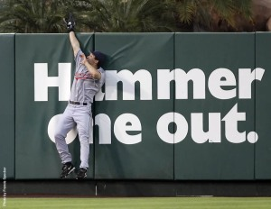 """""""Hammer One Out"""" has the be the most blatantly sexual slogan since McDonalds, """"Pound One"""" campain. Grady Sizemore wants you all to know he doesn't jive like that."""
