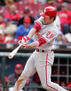 If not for playing in the same league as Pujols, Utley might have a shot at NL MVP.