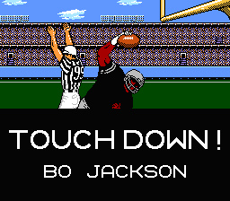 If you played Tecmo Bowl as the Raiders, this was a sight seen frequently.